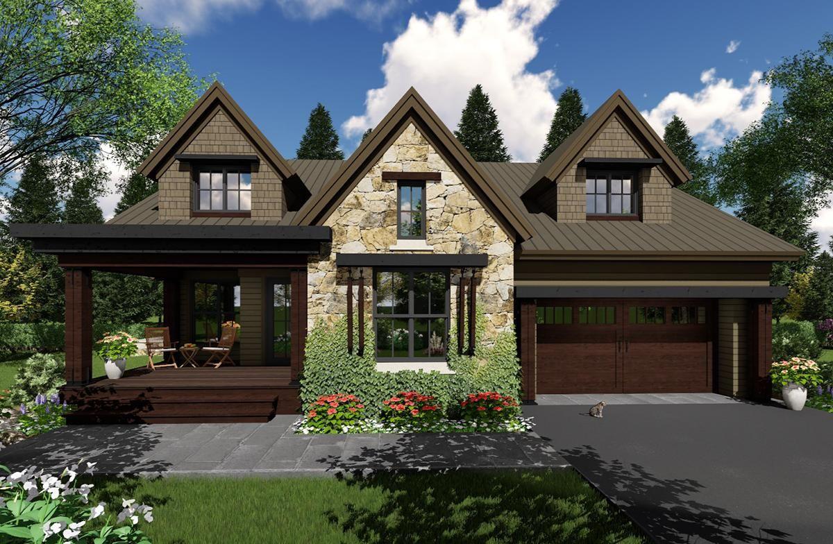 Mountain House Plan 098