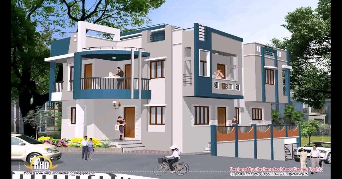 Normal House Design In India Gif Maker Daddygif Com See Indian Small House Fron Kerala House Design Small House Design House Front Design