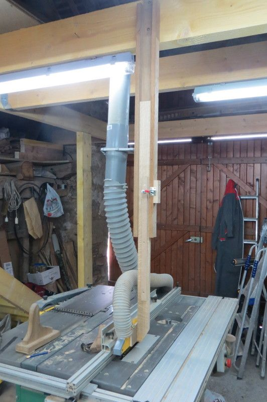 Woodnet Forums Over Arm Support Help Table Saw Accessories Dust Collection Table Saws