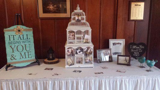 Welcome Table Inspiration - Weddings - Chandelier Ballroom #itallbeginswithyouandme