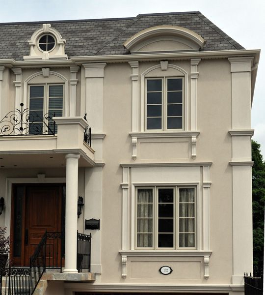 Everest Quality Exterior Stucco Mouldings Gallery Pinterest