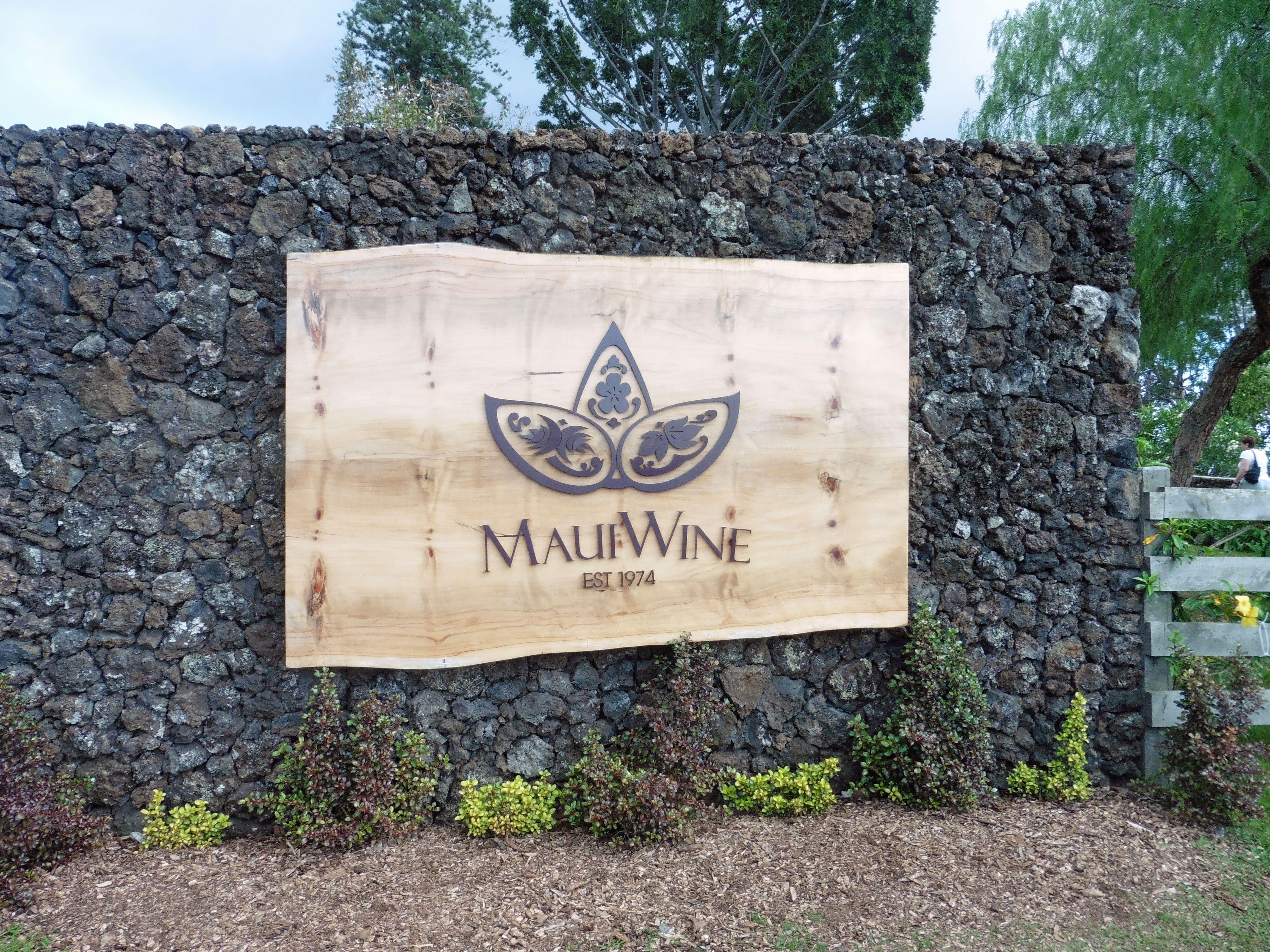 Maui, Havaiji. Maui Wine, Havaijin vanhin ja kuuluisin viinitila sijaitsee Haleakalan rinteillä ʻUlupalakuassa.
