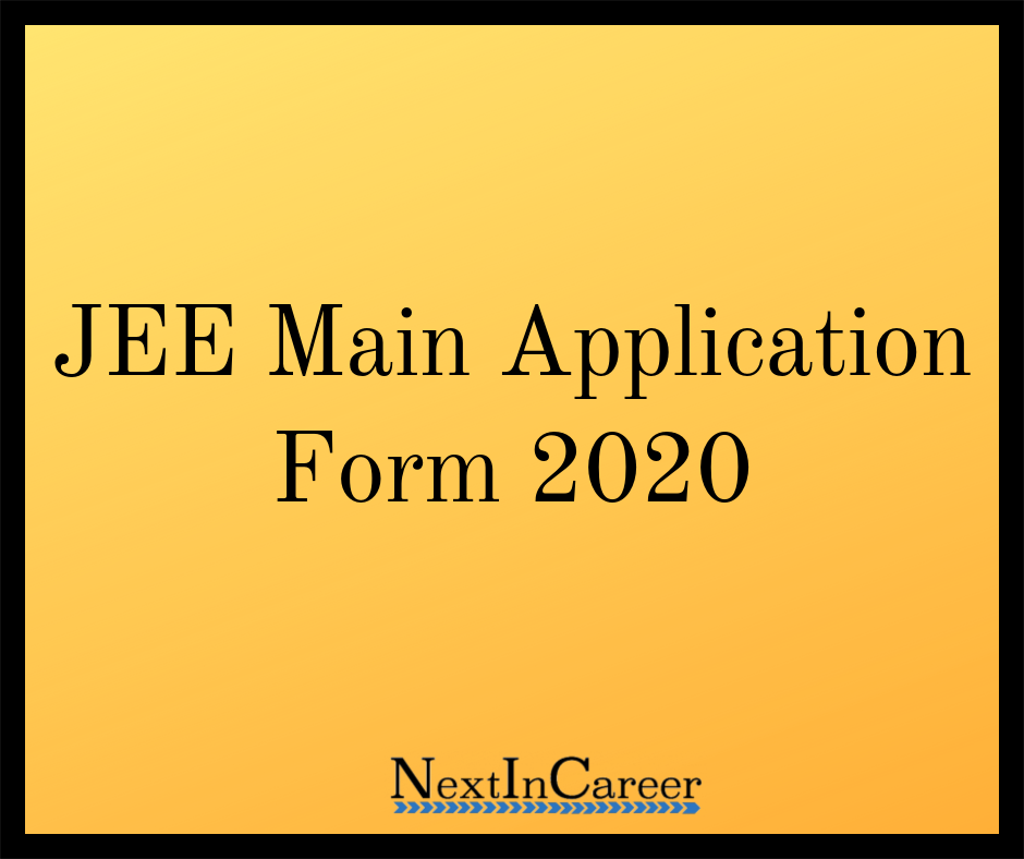Jee Main Application Form Engineering Exam Question Paper