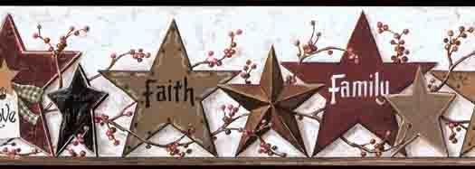 Country Star And Tag Wallpaper CHI CB5506BDB   Wallpaper U0026 Border |  Wallpaper Inc