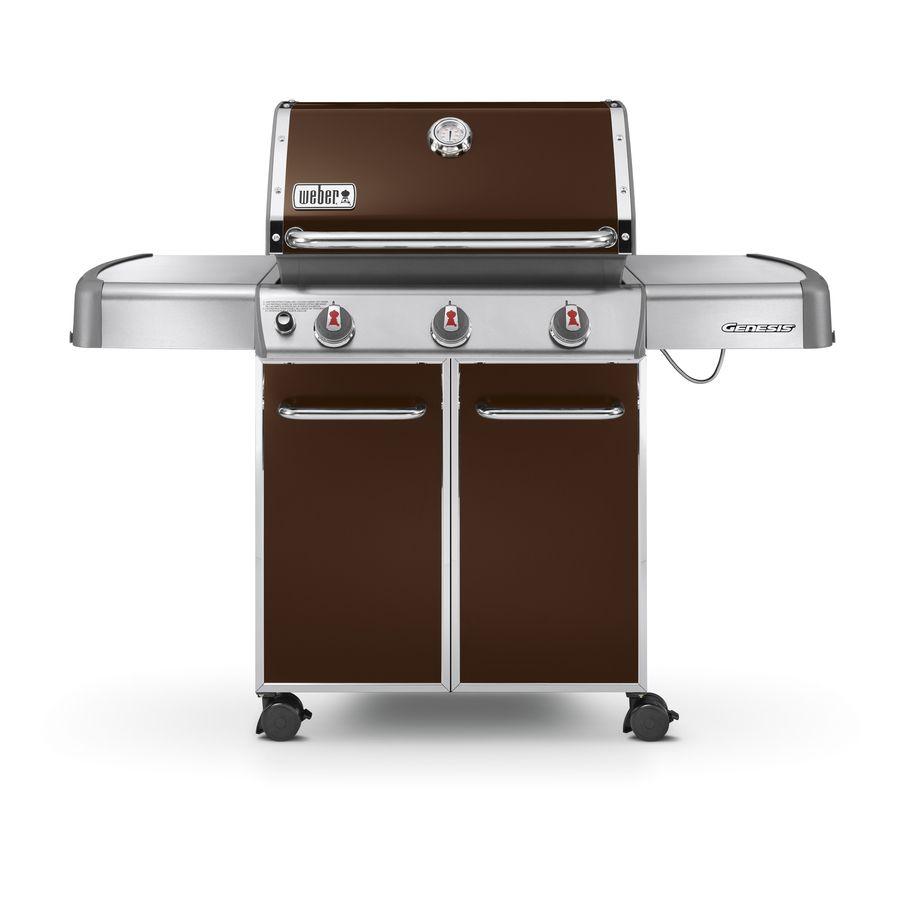 Weber Genesis E 310 Espresso 3 Burner Liquid Propane Gas Grill Lowes Com Best Gas Grills Gas Grill Reviews Gas Grill