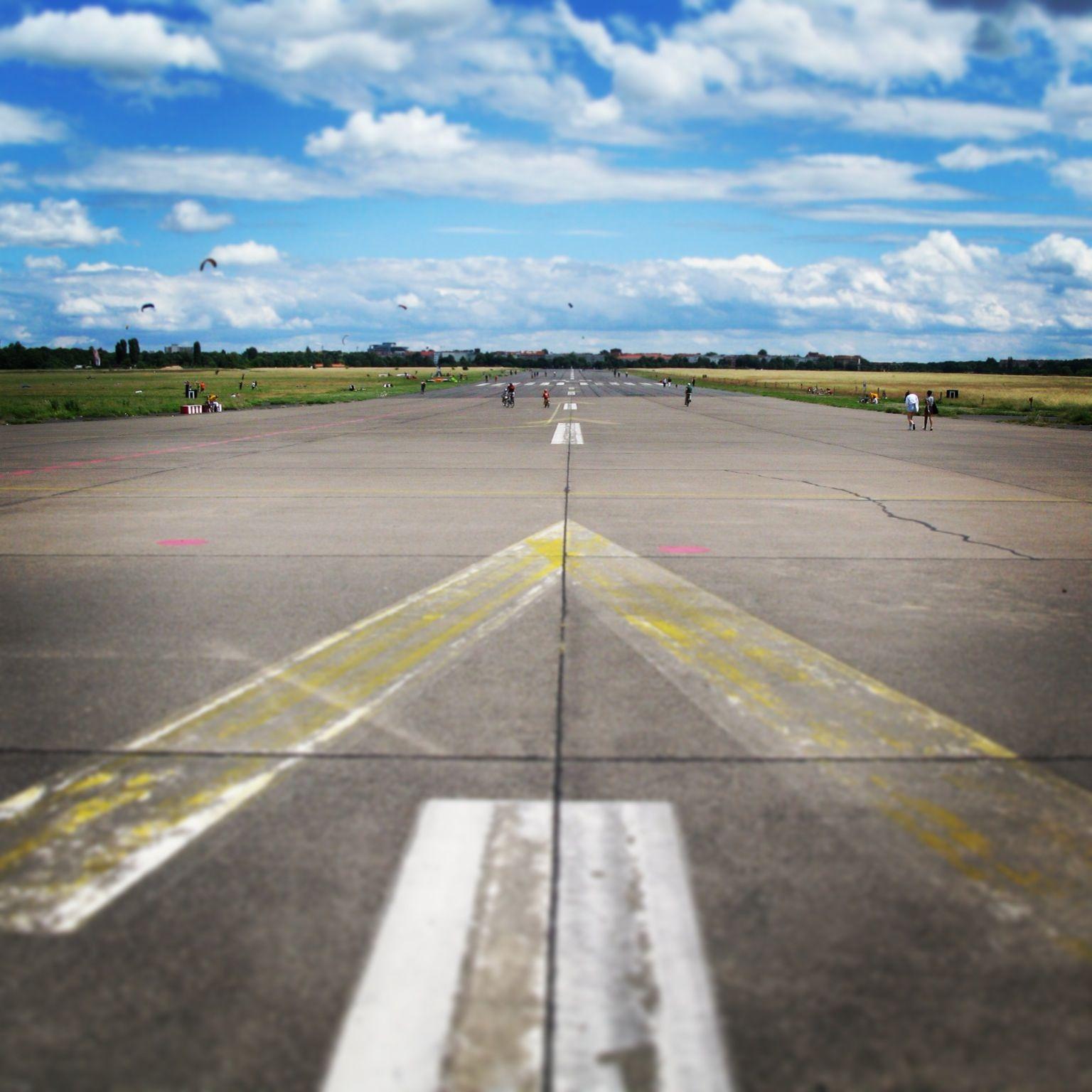 Berlin Tempelhof, The Abandoned Airport In Berlin, Germany