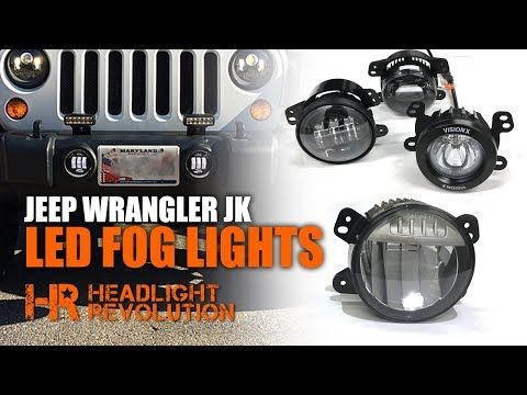 7 Round Led Headlight Housings Https Headlightrevolution Com 7 Round Sealed Beam Headlight Housings In This Video Chris Jeep Wrangler Jeep Led Fog Lights