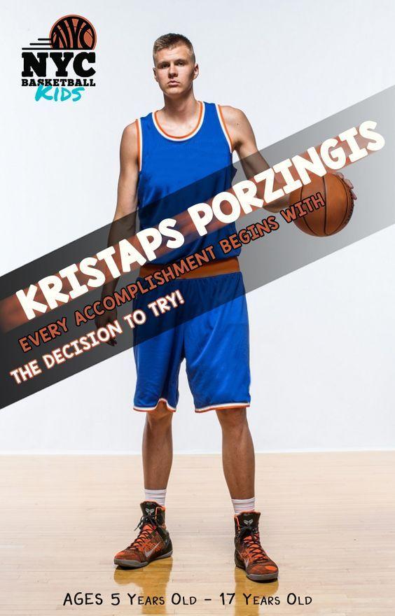 Kristaps Porzingis Kids Basketball Clinic Basketball Clinics Kids Kristaps