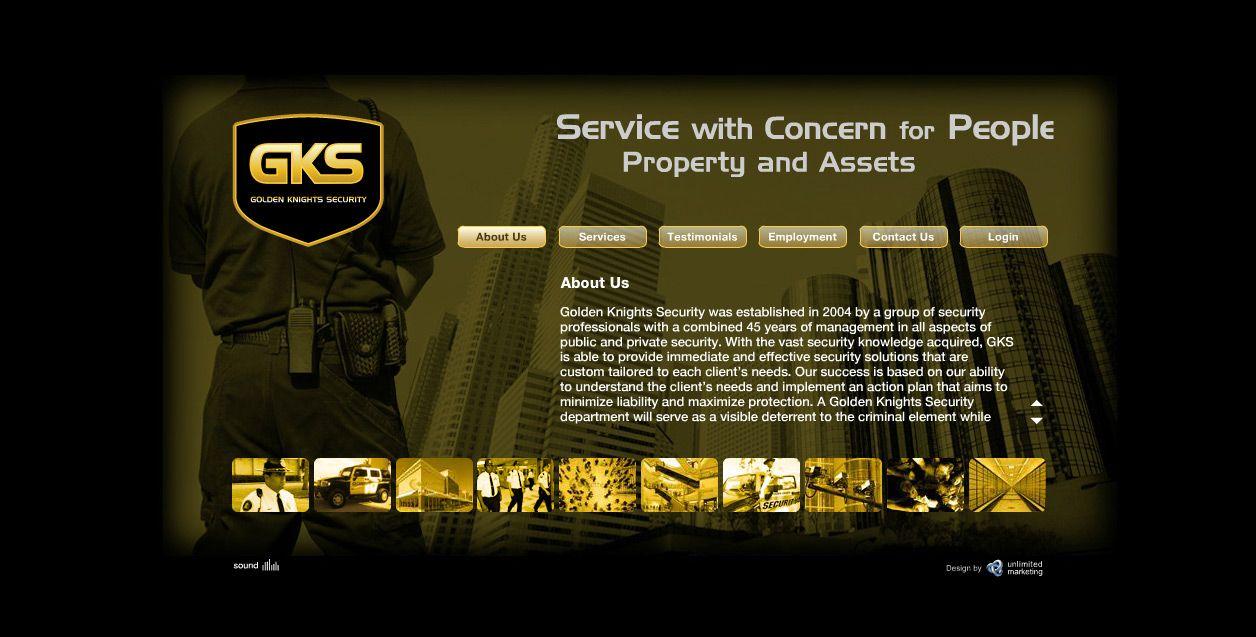 Web Design For Gks By Unlimited Portfolio Web Design Marketing