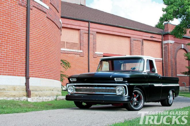 1966 And 1964 Chevy C10 Double Whammy Custom Classic Trucks Chevy Classic Trucks Chevy C10