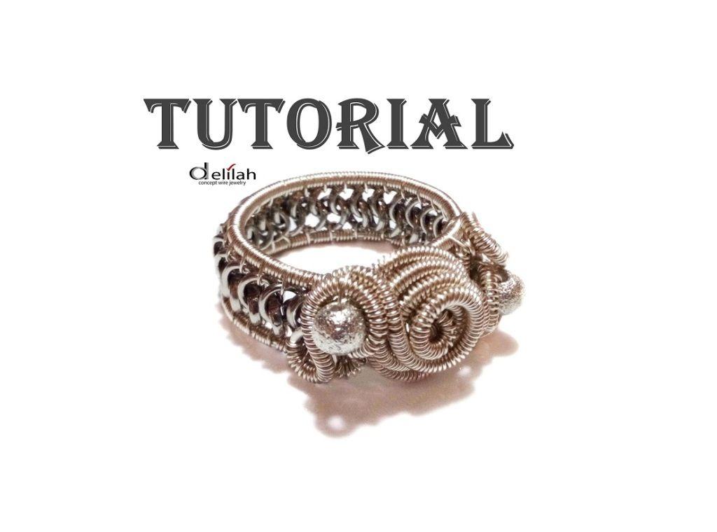 Wire Wrap Woven Ring Jewelry Tutorial | Jewelry - Wire Work ...
