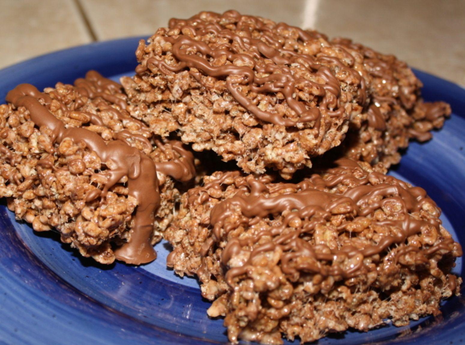 Yummy Cocoa Rice Crispy treats | Recipe | Treats, Rice ...