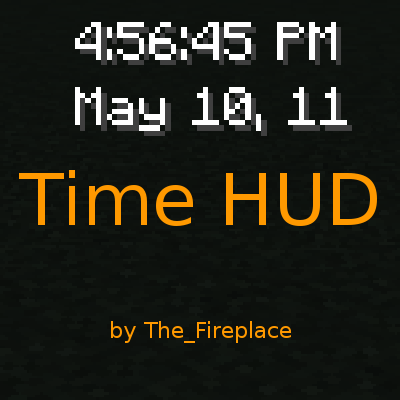 Time Hud Mod 1 14 4 1 13 2 1 12 2 1 11 2 1 10 2 1 8 9 1 7 10 Minecraft Modpacks All Minecraft Minecraft Minecraft Mods