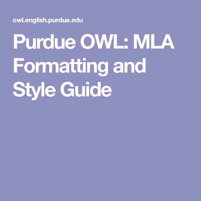 mla format college paper