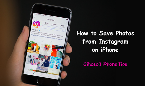 How to Save Instagram Photos on iPhone | social media | Save