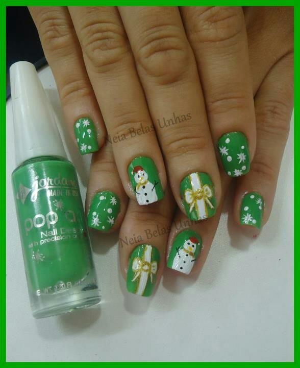 christmas #nail #nails #nailart | NAILS! | Pinterest | Uñas ...