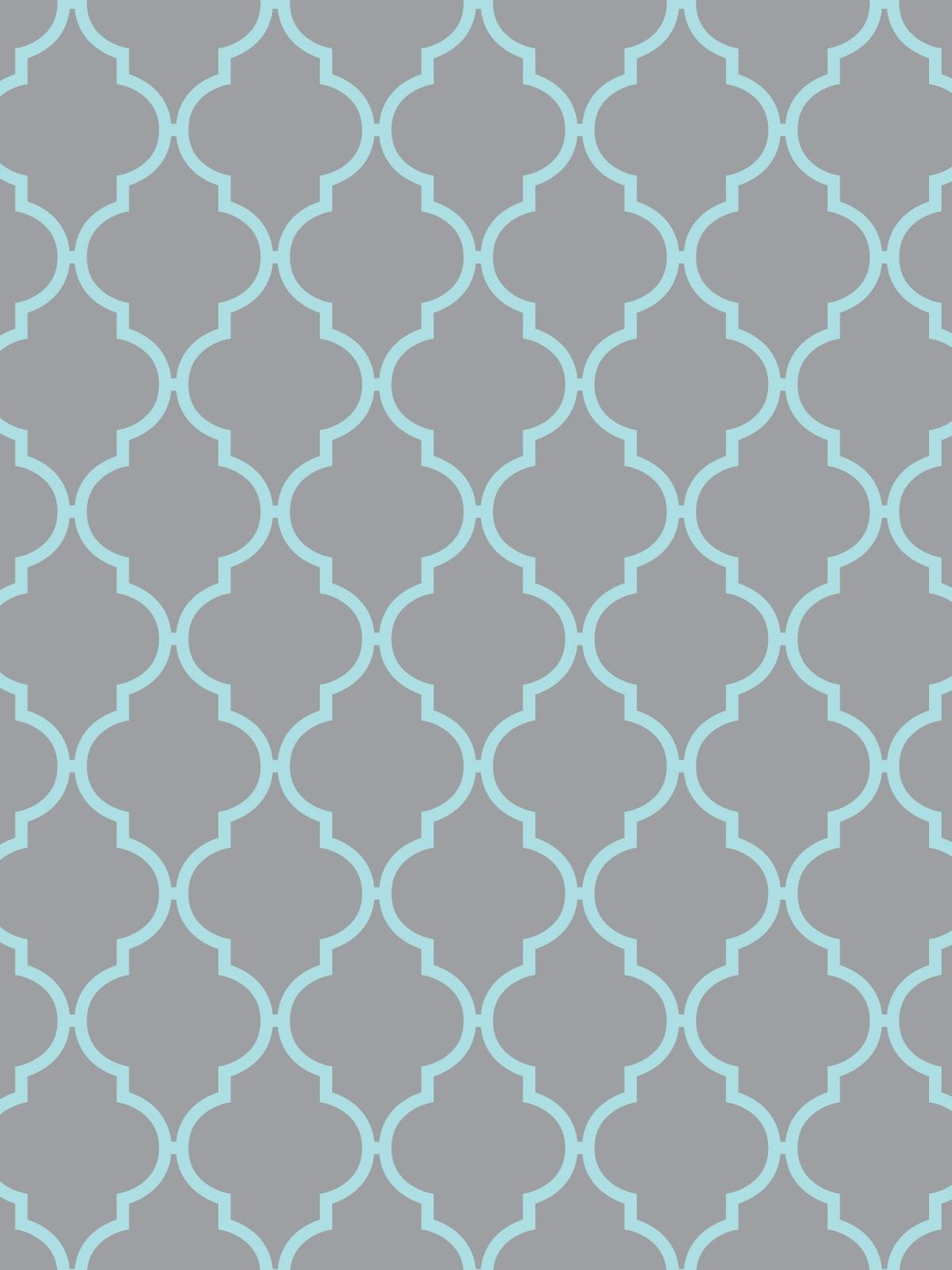 teal and gray wallpaper. quatrefoil wallpaper for iphone \u0026 ipad {light gray with yellow, aqua, pink, or white} each color is available and ipad. teal