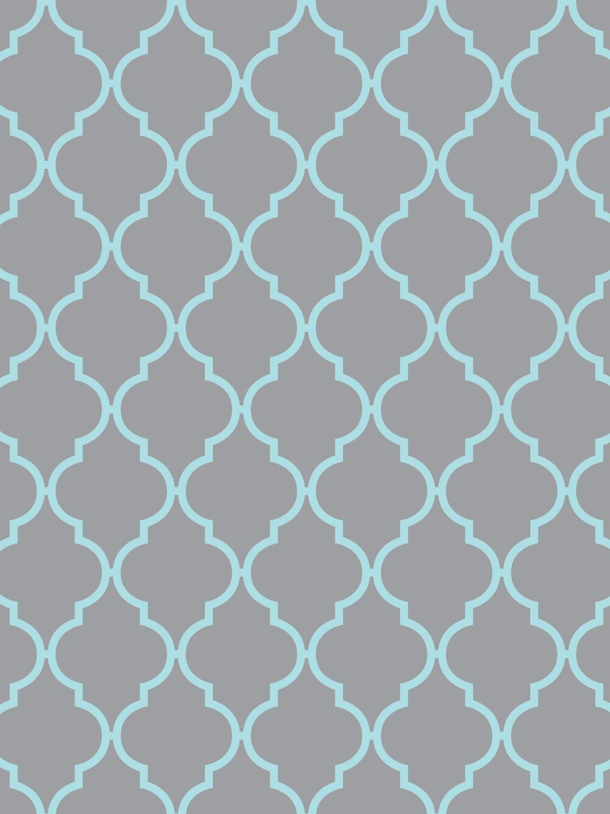 Make itCreate Printables BackgroundsWallpapers Quatrefoil