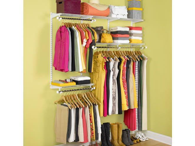 If You Are Looking For An Inexpensive, Adjustable Closet System, Check Out  The Ft Classic Configurations Closet Kits By Rubbermaid