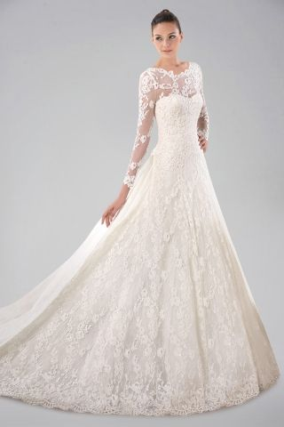 Tips for Buying Long Sleeved Wedding Dresses | newaygorecreation.org ...