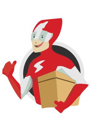 Maskot Logo Sicepat Express Vector Cdr Png The Flash Kilat