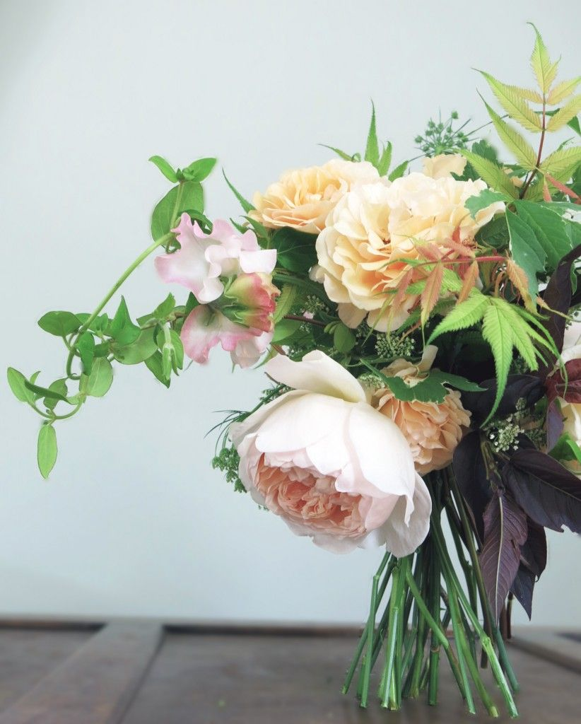 Romantic blush tones #hollybeeflowers