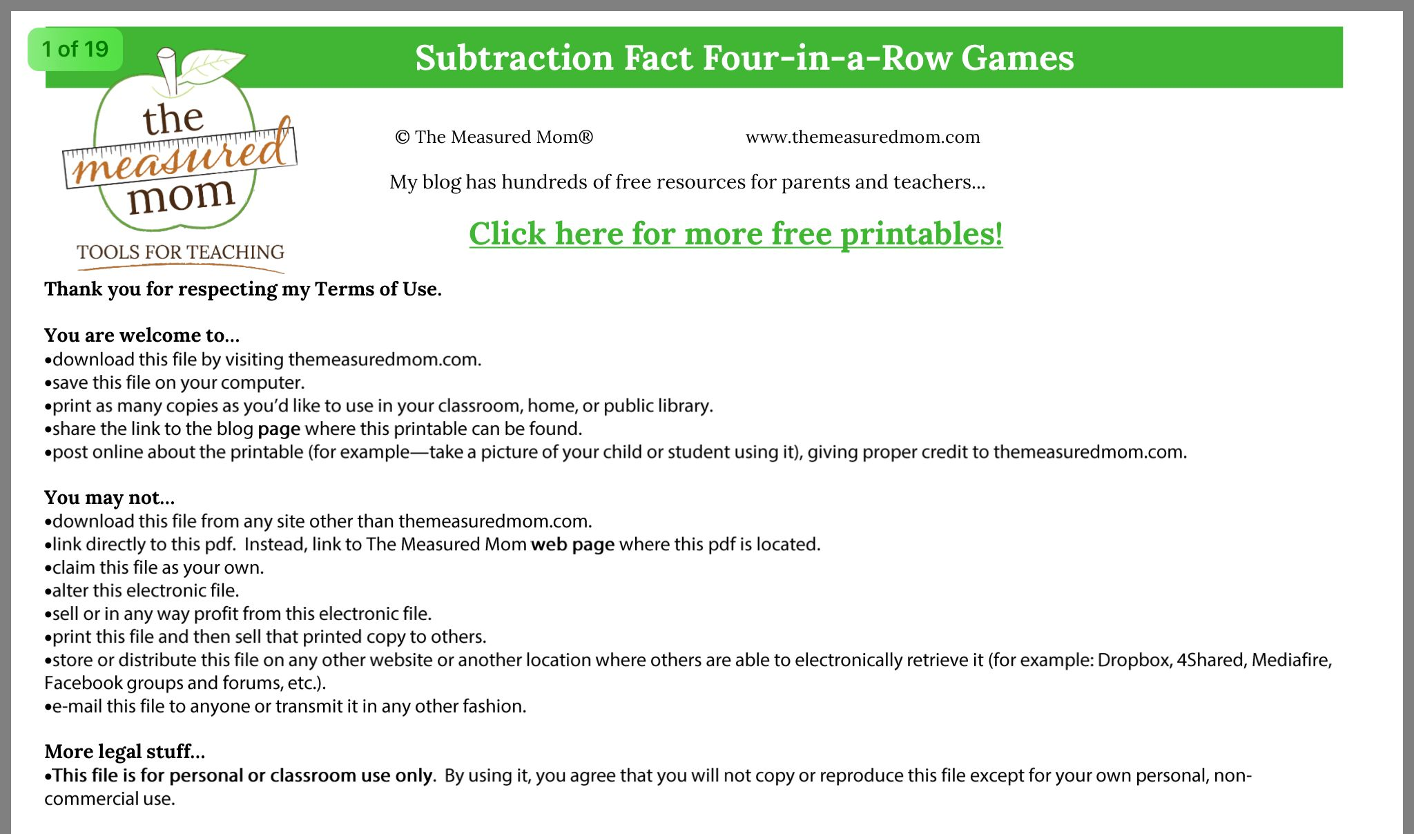 Pin By Mary Louise Allard On Math Games In With Images