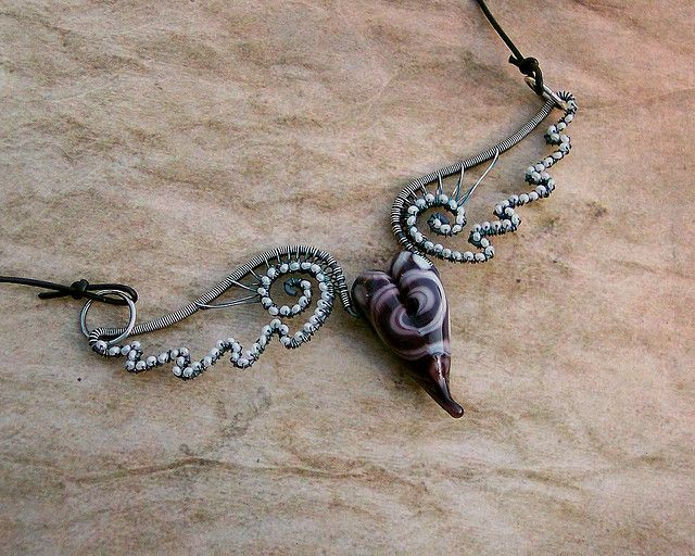 Don\'t fly away with my heart.... | Wire wrapping, Wraps and Jewelry ...