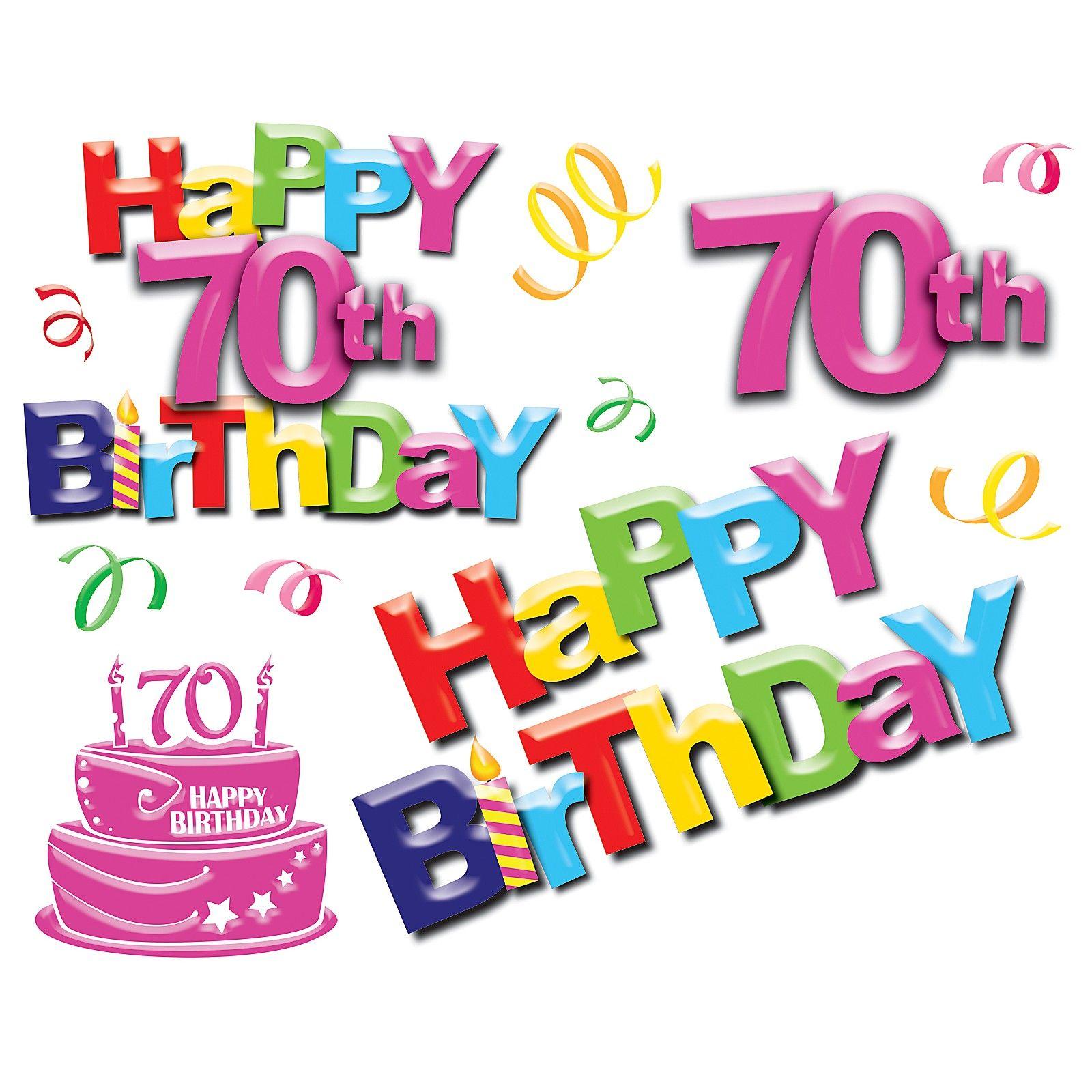 70 Birthday For Dad