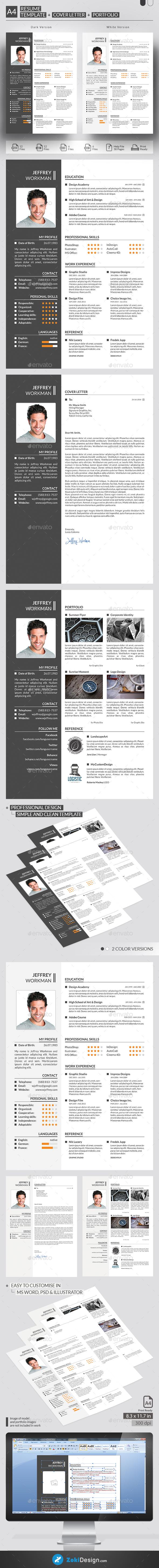 Resume | Pinterest | Modelos de cv, Currículum y Conocimiento