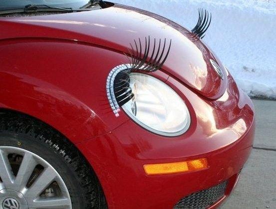Car Eyelashes & Eyeliner, $19.99 | My Style | Car, Car ...