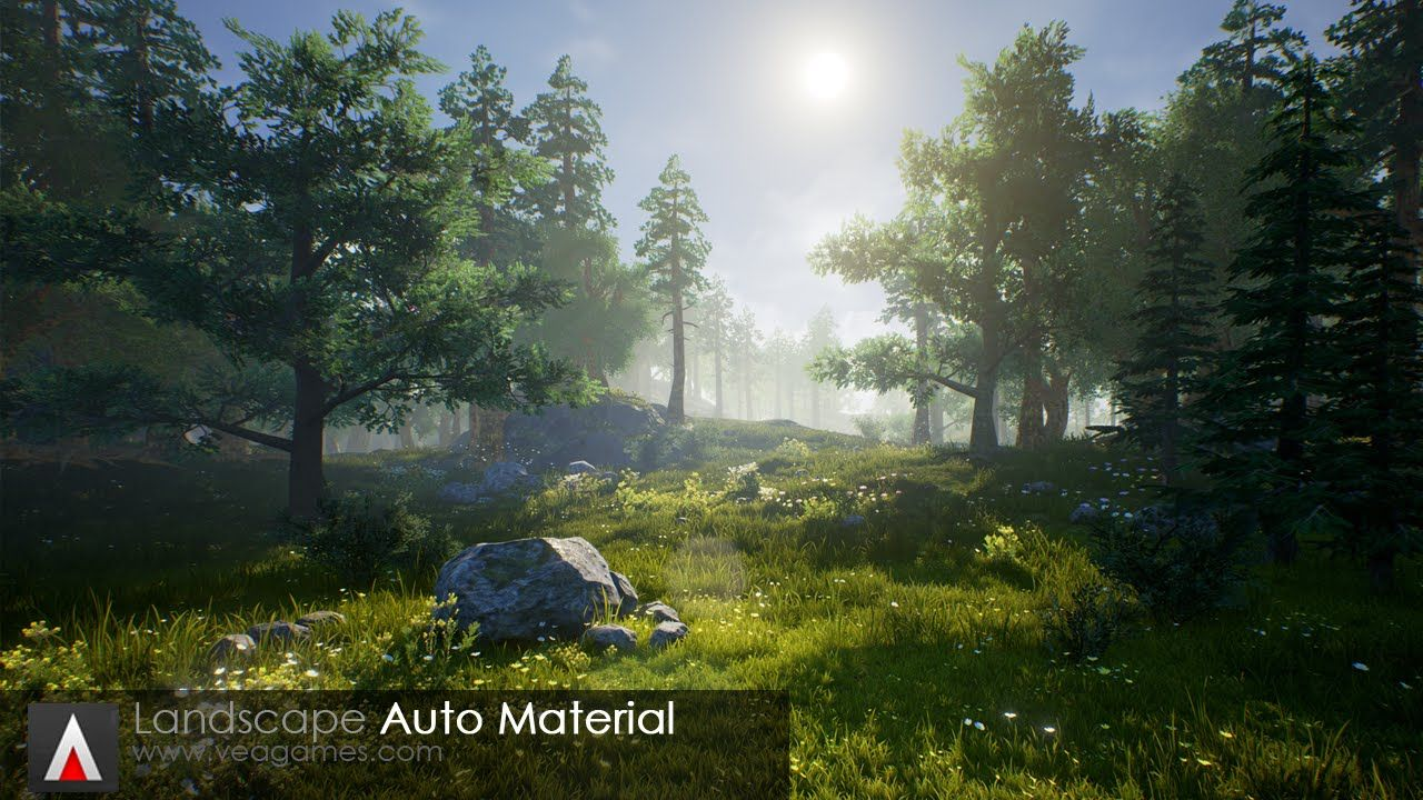 UE4 Pack: Landscape Auto Material | Unreal Engine in 2019