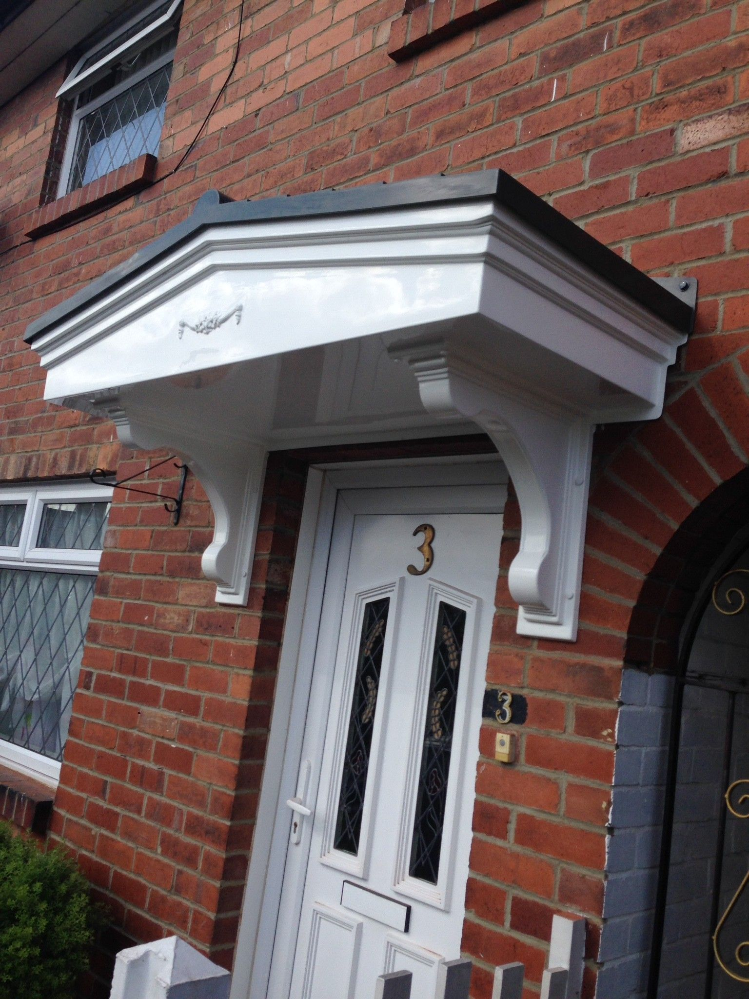 Free installations on every door canopy & Free installations on every door canopy | Apex GRP door canopies ...