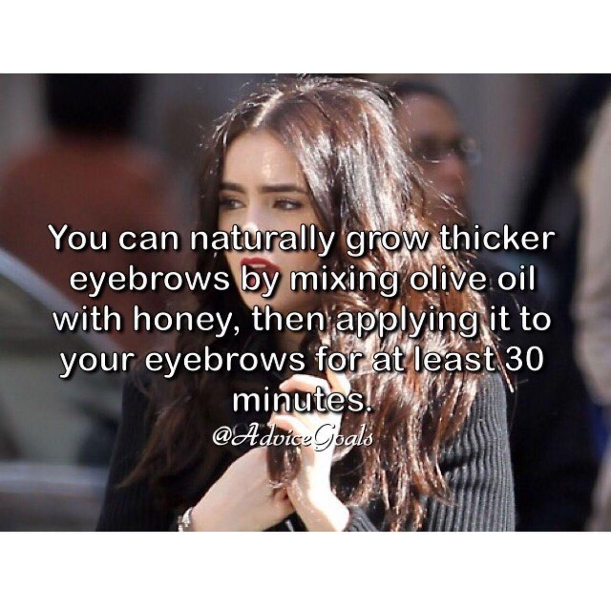 Grow Eyebrows recipe