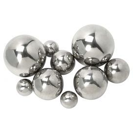 Silver Decorative Balls Set Of 9 Iron Balls With Metallic Finishesproduct 9 Piece Ball