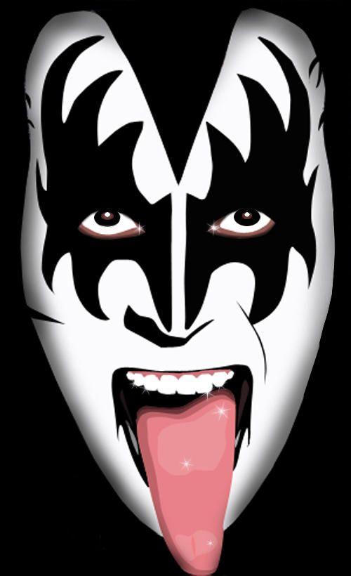 Gene Simmons Artist Music Art Kiss World
