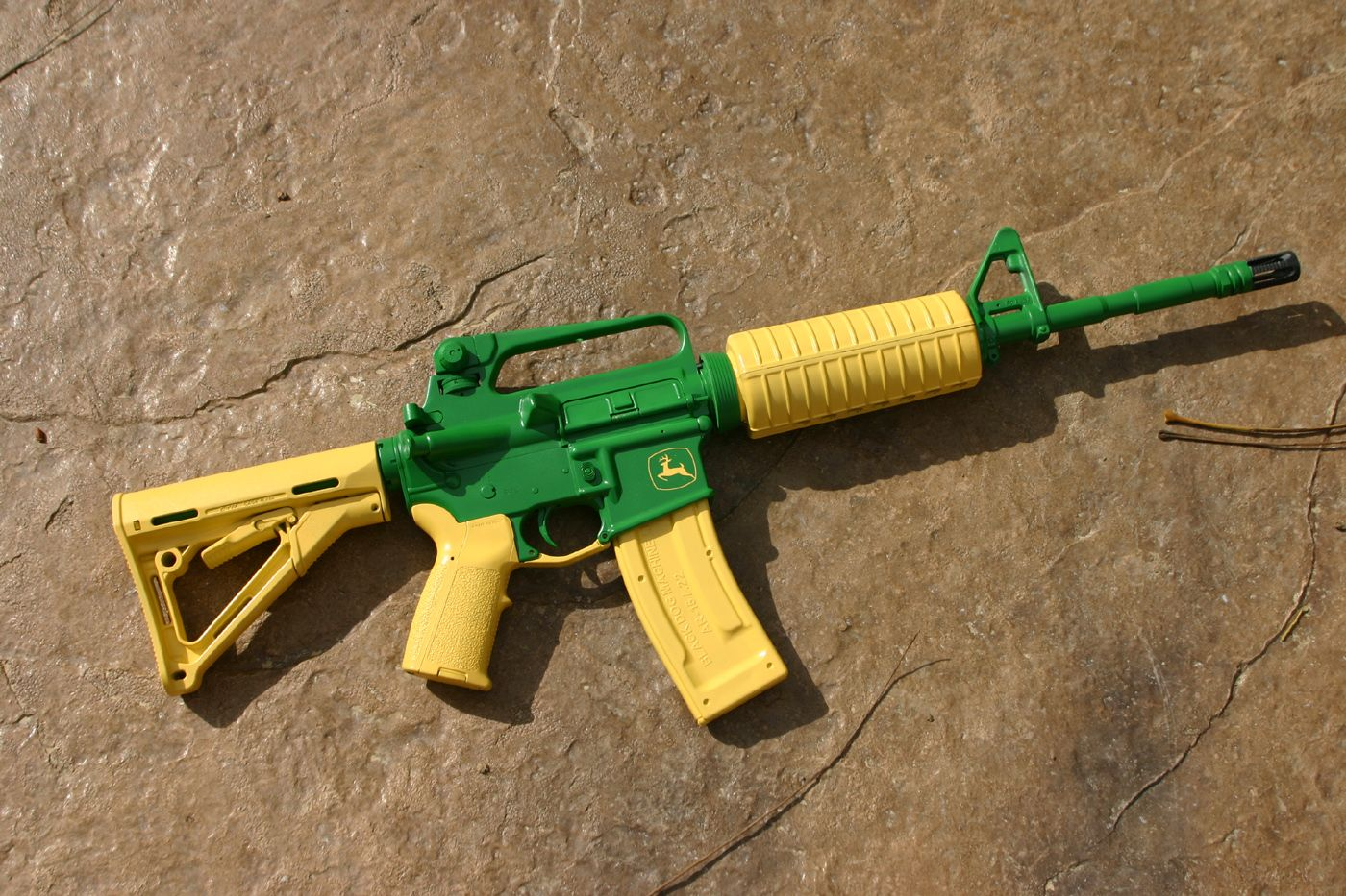 John Deere Green lol | Fire Arms | Pinterest | Guns, Weapons and Ar ...