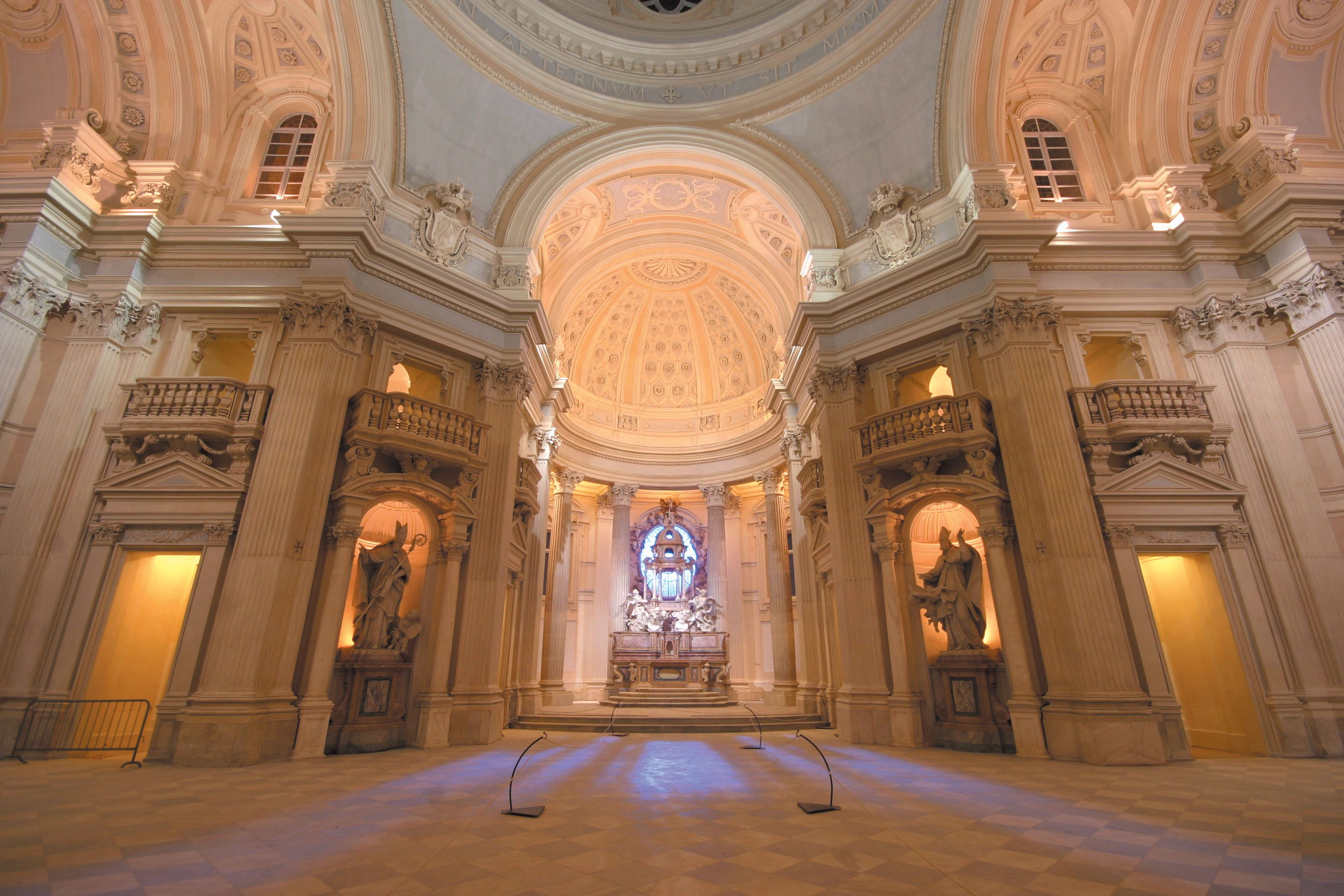 Italy, Reggia di Venaria cappella di sant'Uberto