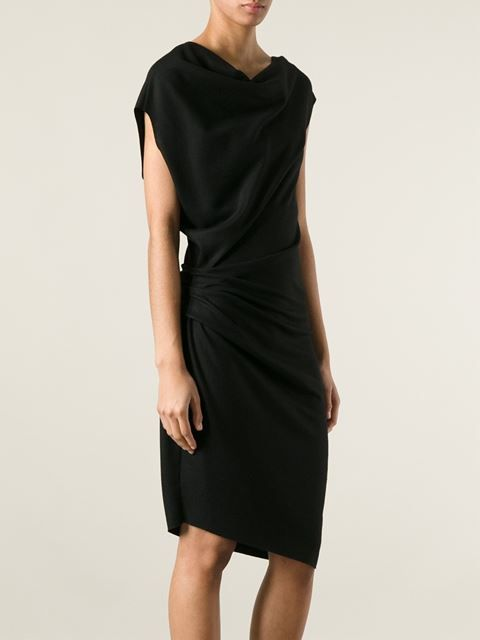 Helmut Lang Asymmetric Dress - Stylesuite - Farfetch.com