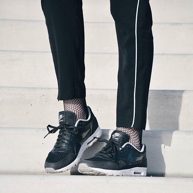 Nike and fishnets | Street Style | Fashion socks, Fishnet