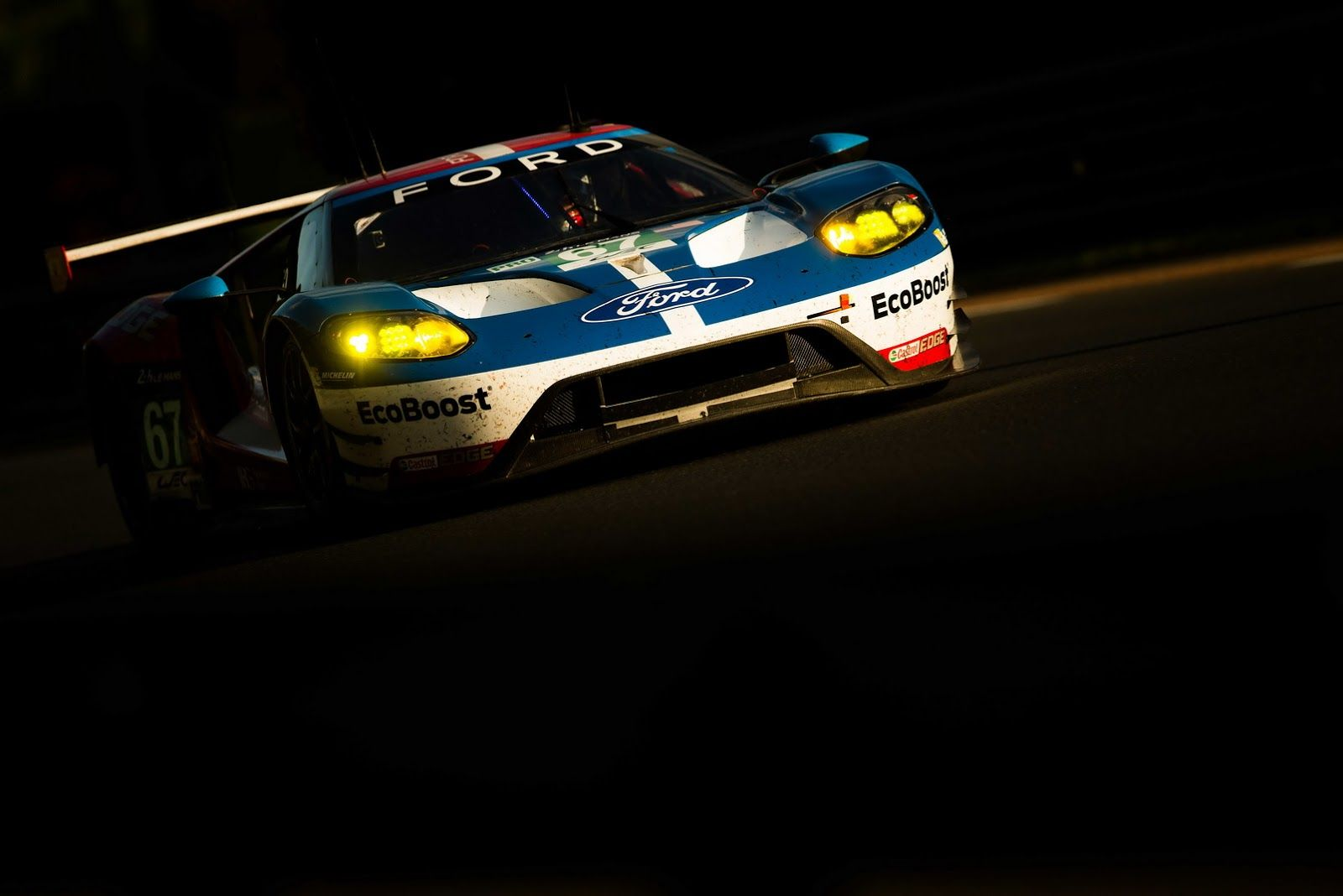 All New Ford Gt Wins Gte Pro Class In Le Mans 24h Race Ford Gt