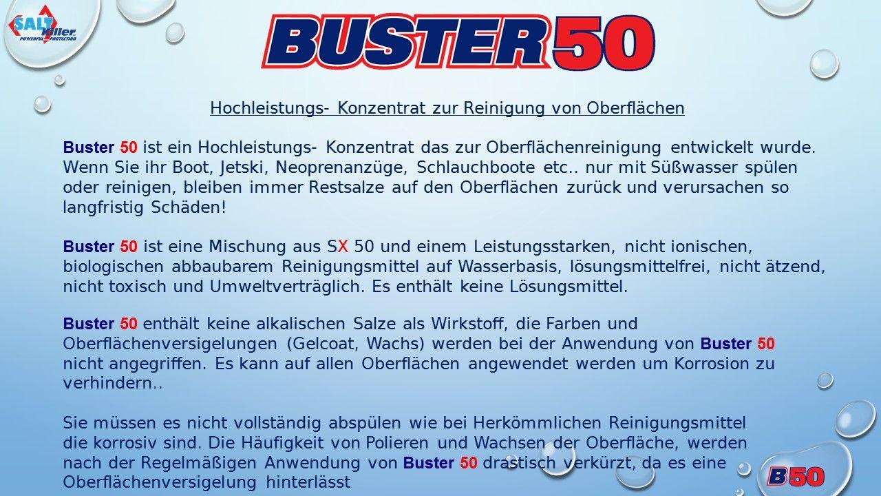 Saltkiller Buster 50-Salzkorrosion-Salz-Jetski-Tauchen-Bootreinigung-Fahrzeugreinigung-Saltkiller Buster 50