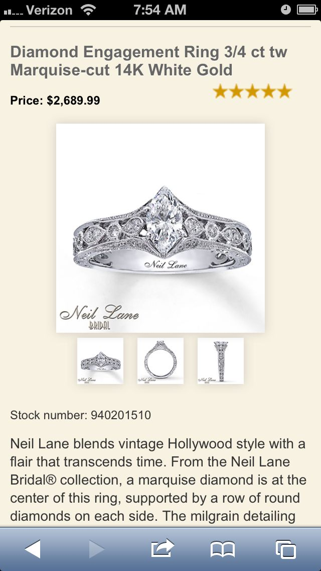 Most beautiful engagement ring I've ever seen!!!