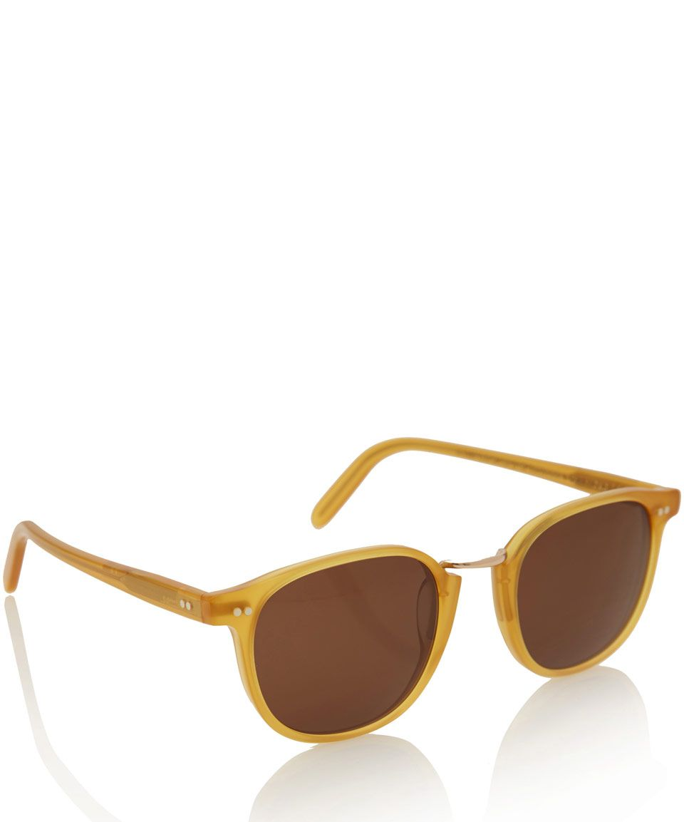 301f4809ff4f Cutler & gross Yellow 1007 Acetate And Metal Sunglasses in Yellow for Men |  Lyst