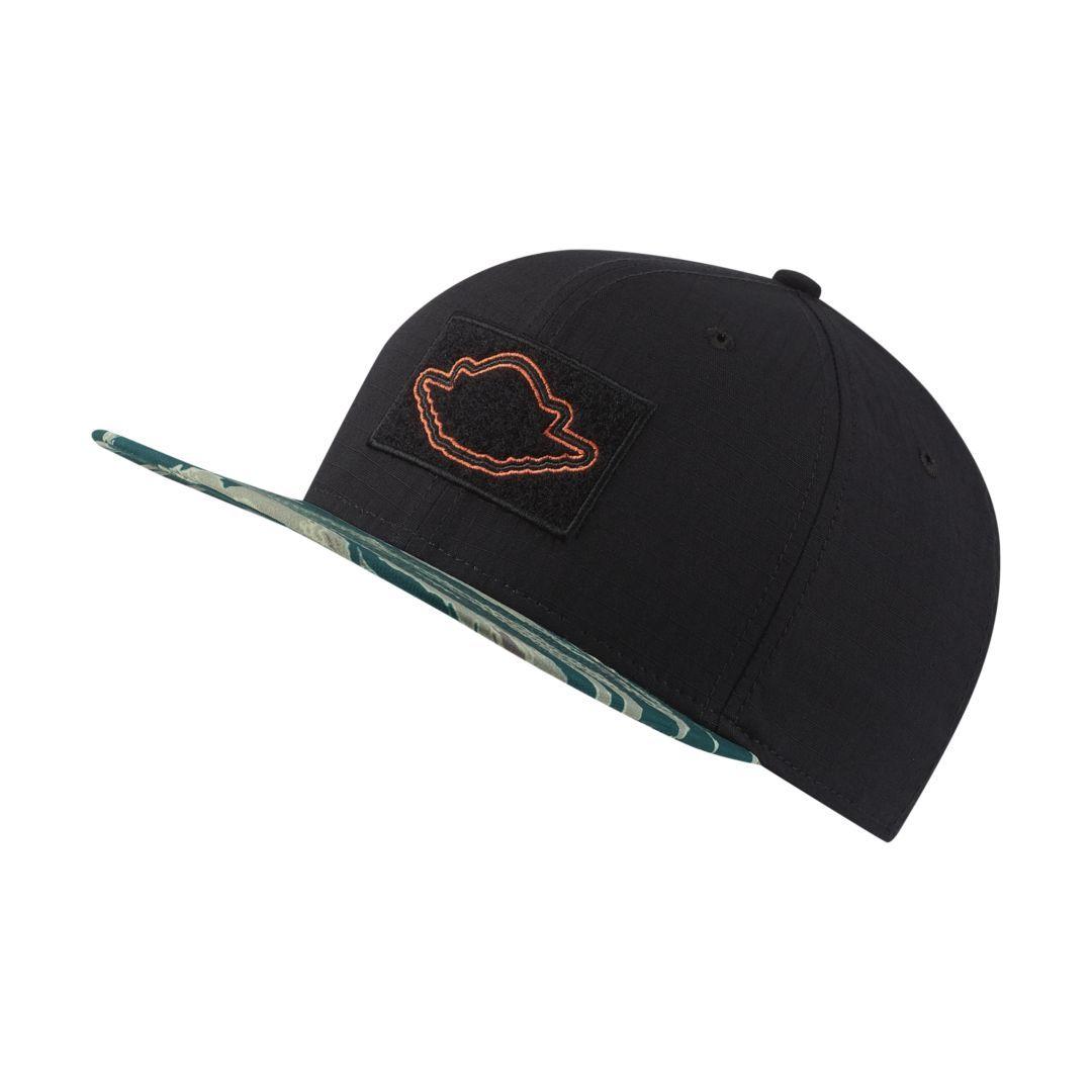Nike Air Jordan Speckled Snapback Hat Black  Jumpman 821830 015 Speckle Fly