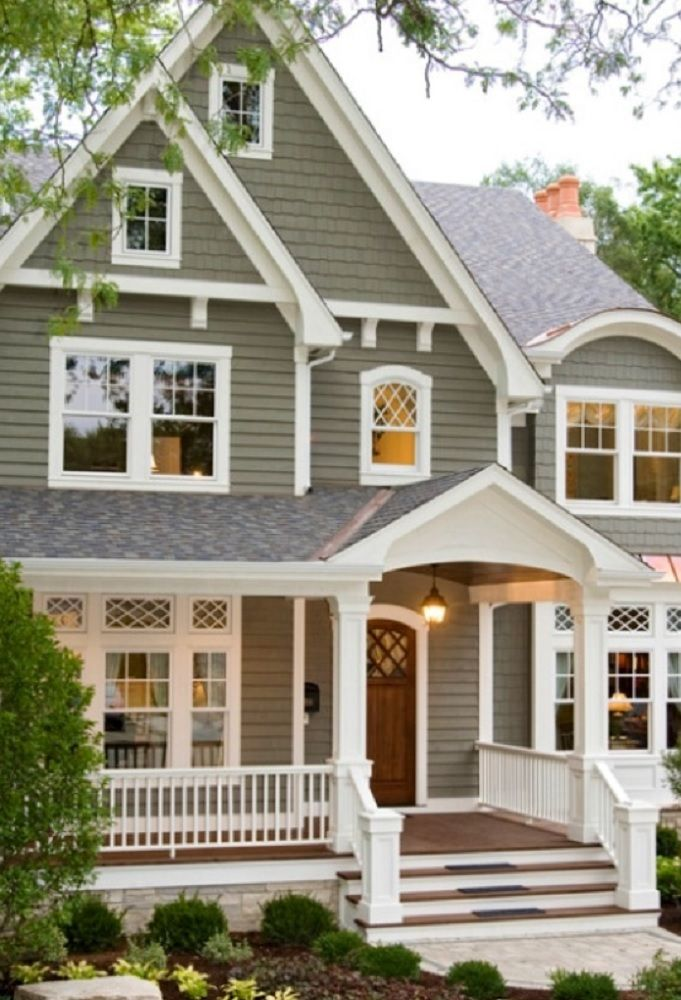 Gray Taupe White With Burgundy Door Best Exterior House Paint House Paint Exterior Exterior House Paint Color Combinations
