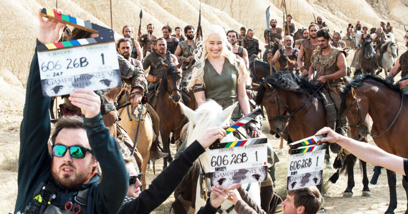 Meet the OnSet Photographers of 'Game of Thrones' Game