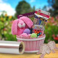 Basket kits for easy easter shopping easter egg hunt lucky clover trading is a wholesale baskets distributor and importer of baskets wholesale through a wholesale gift basket suppplies company negle Choice Image