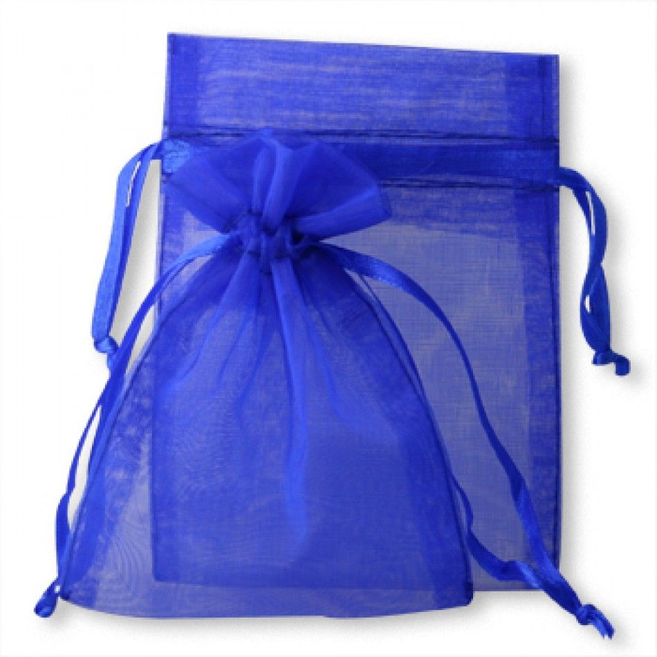 Sheer Organza Favor Bags Royal Blue Whole Wedding Supplies Favors Party And Bulk Event
