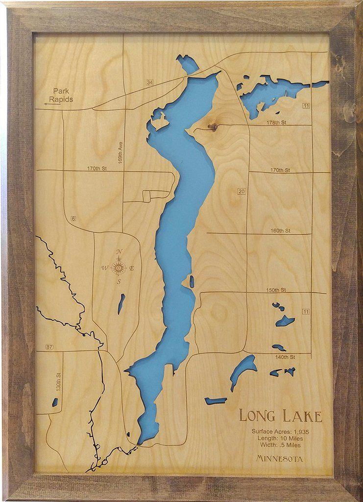 Long Lake Minnesota Park Rapids Wood